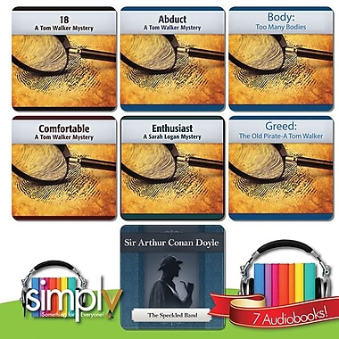 Tom Walker: 5 Mysteries & Speckled Band Audiobooks Bundle - Download