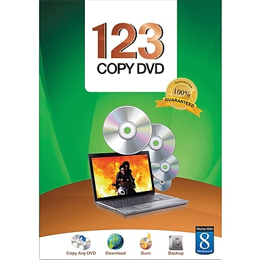 Bling 123 Copy DVD Basic for Windows (3-User) [Boxed]