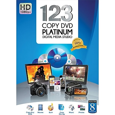 Bling 123 Copy DVD Platinum 2013 for Windows (3-User) [Boxed]