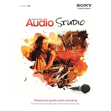Sony Sound Forge Audio Studio 10.0 for Windows (1-User) [Boxed]