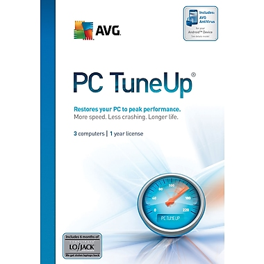 AVG PC Tune Up for Windows (3-User) [Boxed]