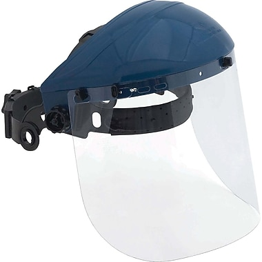 Dentec ValuGard Safety Faceshield with Swivelling Ratchet Suspension
