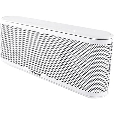 Monster ClarityHD Micro Bluetooth Speaker, White