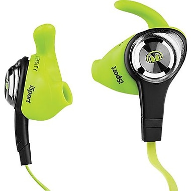 Monster iSport Intensity In-Ear Headphones, Green