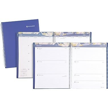 2013/2014 AT-A-GLANCE® Joy Weekly/Monthly Large Appointment Book, 8 1/2in. x 11in.