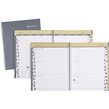 2013/2014 AT-A-GLANCE® Academic Joey Weekly/Monthly Large Appointment Book, 8 1/2in. x 11in.