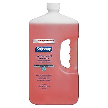 Softsoap® Antibacterial Hand Soap, Crisp and Clean, Refill, 1 Gallon