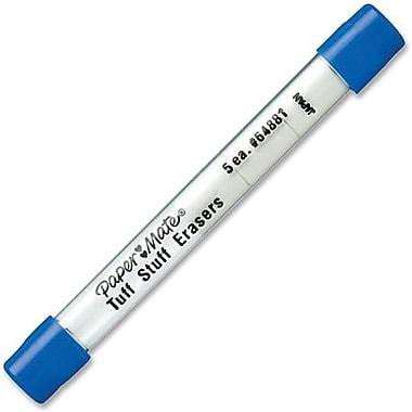 Papermate Tuff Stuff Eraser Refills, 5/Pack