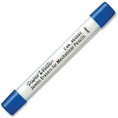 Papermate Tuff Stuff Jumbo Eraser Refills, 2/Pack