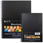 "Bienfang Hardcover Sketch Book, 9"" x 6"", 75 Sheets/Pad"
