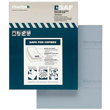 Chartpak® Applique Drafting Film, 8-1/2