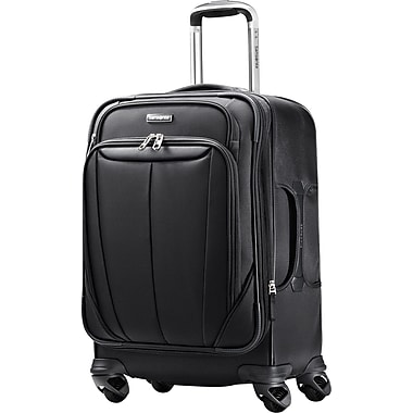 Samsonite Silhouette Sphere 25in. Expandable Softside Spinner Luggage, Black