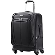 Samsonite Silhouette Sphere 25 Expandable Softside Spinner Luggage, Black