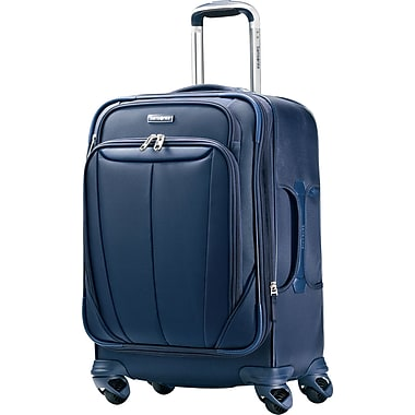 Samsonite Silhouette Sphere 25in. Expandable Softside Spinner Luggage, Indigo Blue