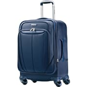 Samsonite Silhouette Sphere 25 Expandable Softside Spinner Luggage, Indigo Blue