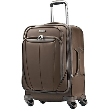 Samsonite Silhouette Sphere 21in. Expandable Softside Spinner Luggage, Brown