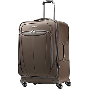 Samsonite Silhouette Sphere 25in. Expandable Softside Spinner Luggage, Brown
