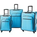 American Tourister POP 3 Piece Spinner Softside Luggage Set, Bright Blue