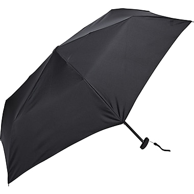 Samsonite Manual Flat Compact Umbrella, Black