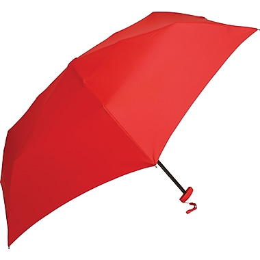 Samsonite Manual Flat Compact Umbrella, Red