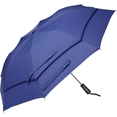 Samsonite Windguard Automatic Open Umbrella, Aqua Blue