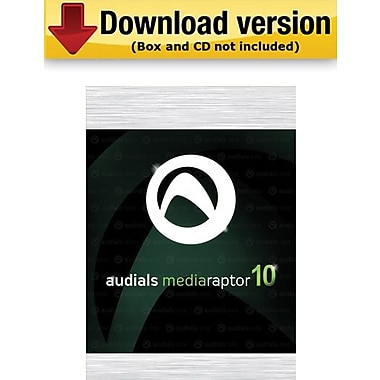 Audials Mediaraptor 10 for Windows (1-User) [Download]