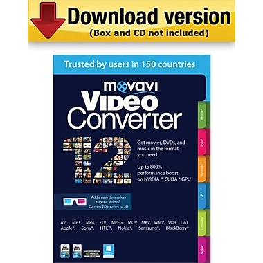 Movavi Video Converter 12 Personal Edition for Windows (1-User) [Download]