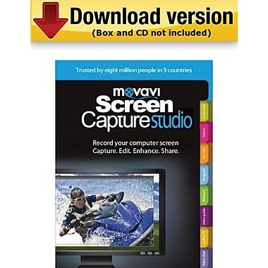 Movavi Screen Capture Studio 4 Personal Edition for Windows (1-User) [Download]