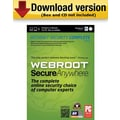Webroot SecureAnywhere Internet Security Plus 2013 for Windows (1-3 User) [Download]