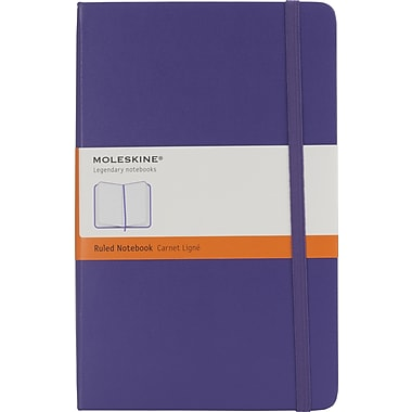 Moleskine 2013-2014 Turntable Planner, 18M, Large, Weekly, Brilliant Violet, Hard Cover, 5in. x 8-1/4in.