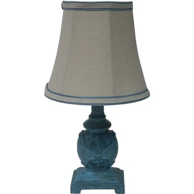 Fangio Blue Mini Accent Table Lamp
