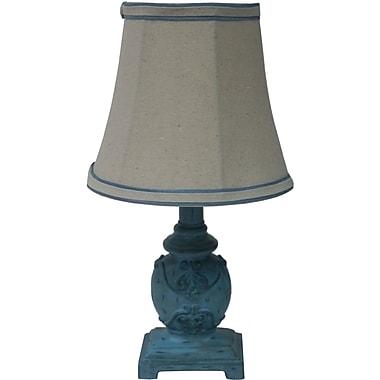 Fangio Blue Mini Accent Table Lamp