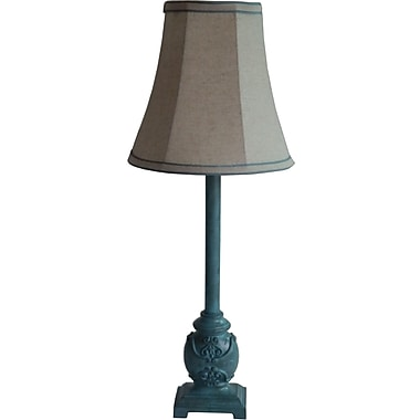 Fangio Blue Resin Buffet Lamp