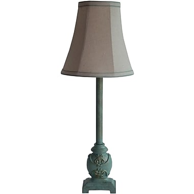 Fangio Green Resin Buffet Lamp