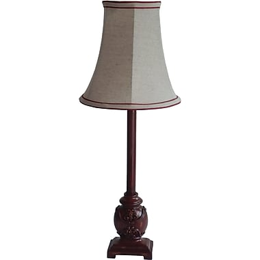 Fangio Red Resin Buffet Lamp