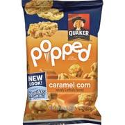 Quaker® Popped Rice Snacks, Caramel Corn, .91 oz. Bags, 60 Bags/Carton