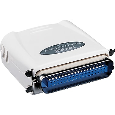 TP-LINK Single Parallel Port Fast Ethernet Print Server (TL-PS110P)