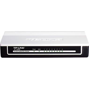 TP-LINK 8-Port Cable/DSL Router (TL-R860)