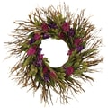 Wild Berry Parade Dried Floral Wreath, 22in