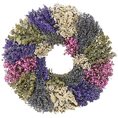 Lavender Wilderness Wreath, 22in