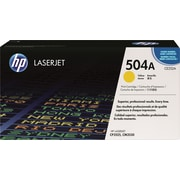 HP 504A Yellow Toner Cartridge (CE252A)