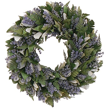 Enchanted Garden  Dried Floral Wreath