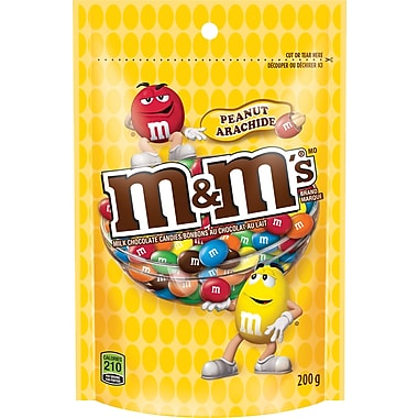 m&m's Peanut Milk Chocolate Candies