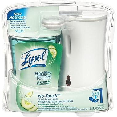 Lysol – Système de savon à mains sans contact, concombre frais