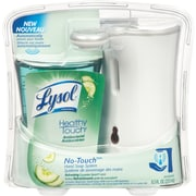 Lysol No-Touch Hand Soap System, Refreshing Cucumber Splash