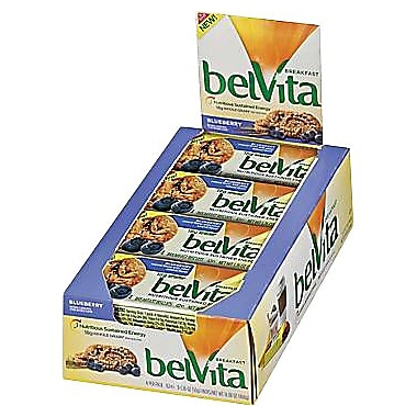 BelVita Breakfast Biscuits, Blueberry, 8 Packs/Box