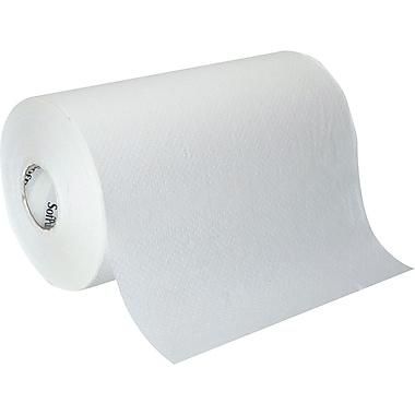 Georgia-Pacific Sofpull Hardwound 500' Paper Towel Rolls, White, 1-Ply, 6 Rolls/Case