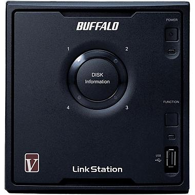 Buffalo LinkStation™ Pro Quad LS-QV4.0TL/R5 4-Bay Network Attached Storage, 4 TB