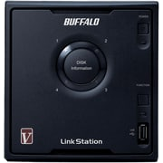 Buffalo LinkStation™ Pro Quad LS-QV4.0TL/R5 4-Bay Network Attached Storage, 4 TB