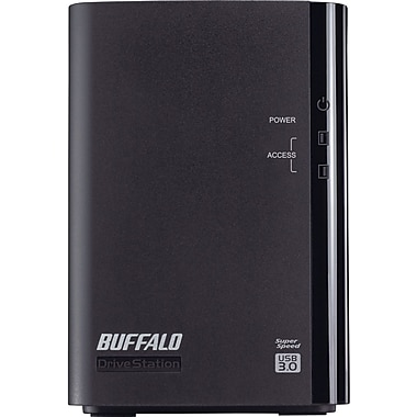 Buffalo DriveStation™ Duo HD-WL2TU3R1 Portable Hard Drive, 2 TB